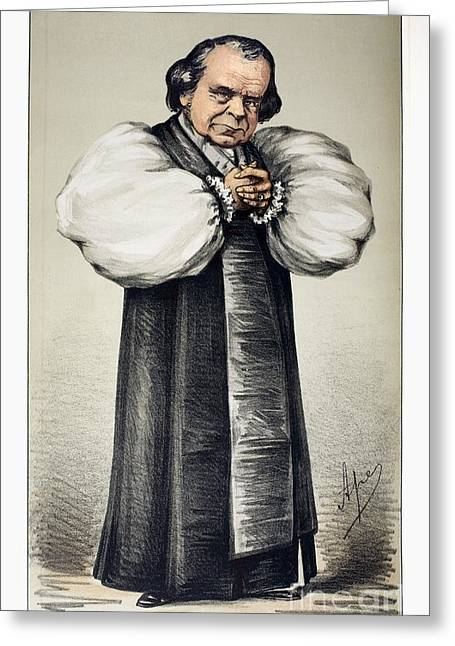 Wilberforce Greeting Cards - Samuel Wilberforce, Bishop Of Winchester Greeting Card by Paul D. Stewart