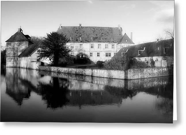 Historic Architecture Greeting Cards - Schloss Tatenhausen Greeting Card by Roman Grac