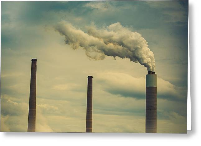Power Plants Greeting Cards - 3 Greeting Card by Shane Holsclaw