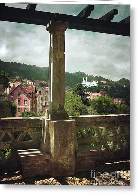 Sintra Landscape Greeting Card by Carlos Caetano