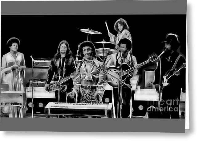 Psychedilic Greeting Cards - Sly and The Family Stone Collection Greeting Card by Marvin Blaine