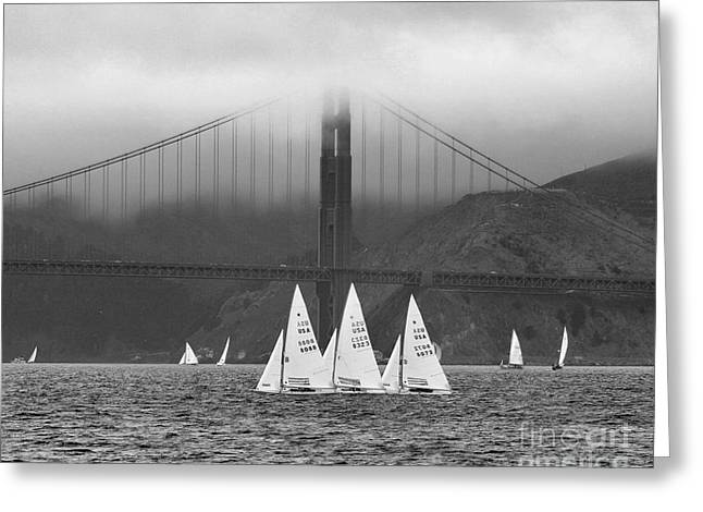 Best Sailing Photos Greeting Cards - 3 Stars Greeting Card by Scott Cameron