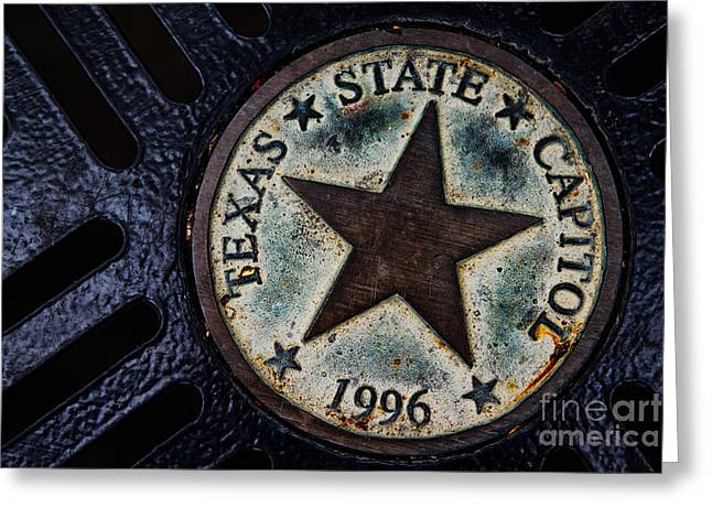 Austin Tx Greeting Cards - Texas State Capitol Greeting Card by Doug Sturgess