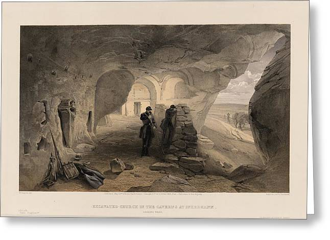 Cavern Paintings Greeting Cards - The Crimean War Greeting Card by Celestial Images
