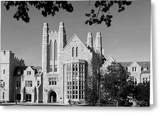 Uconn Greeting Cards - UCONN Law School Greeting Card by Mountain Dreams