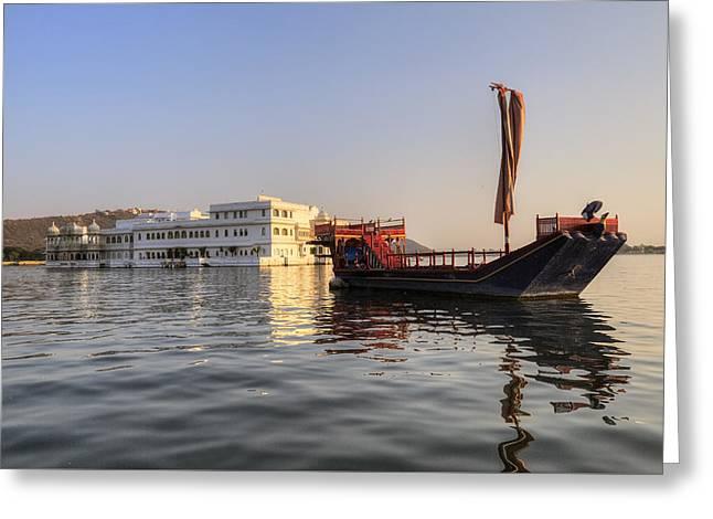 Udaipur - India Greeting Card by Joana Kruse