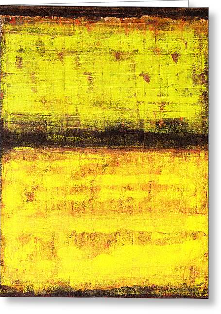 Rothko Greeting Cards - Untitled No. 1 Greeting Card by Julie Niemela