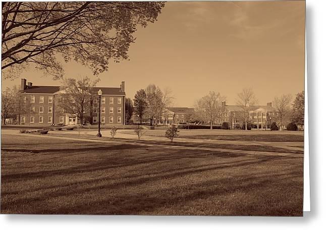 West Virginia Wesleyan College Campus Greeting Card by Mountain Dreams