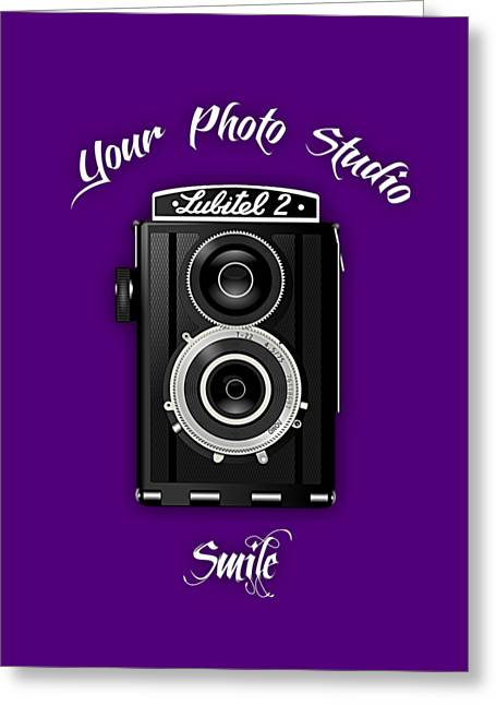 Camera Greeting Cards - Your Photo Studio Collection Greeting Card by Marvin Blaine