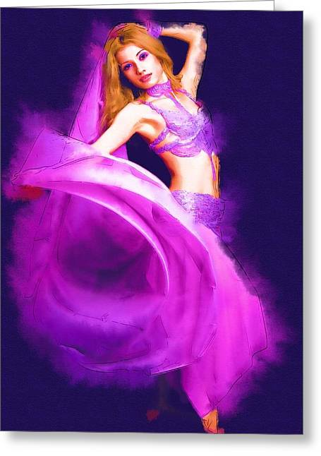 Game Greeting Cards - You Dance Greeting Card by Michael Vicin