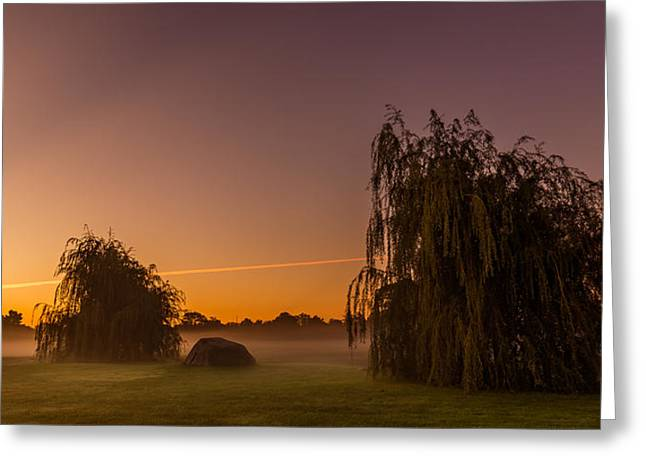 Foggy Photographs Greeting Cards - 300 Greeting Card by Chris Bordeleau