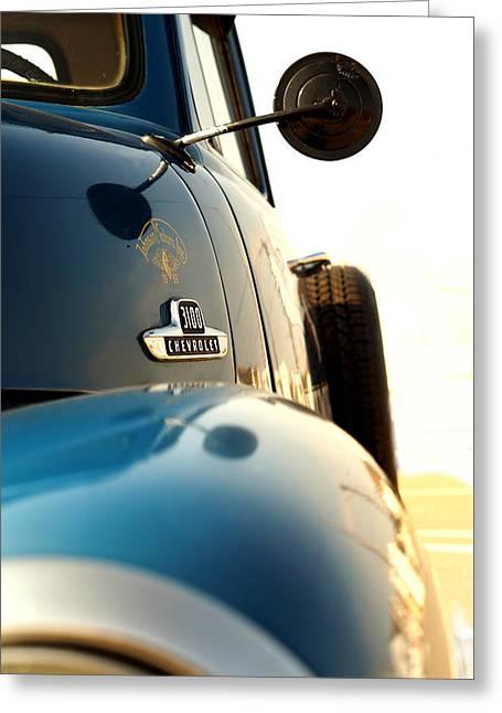 3100 Chevrolet Greeting Card by Mark Rogan