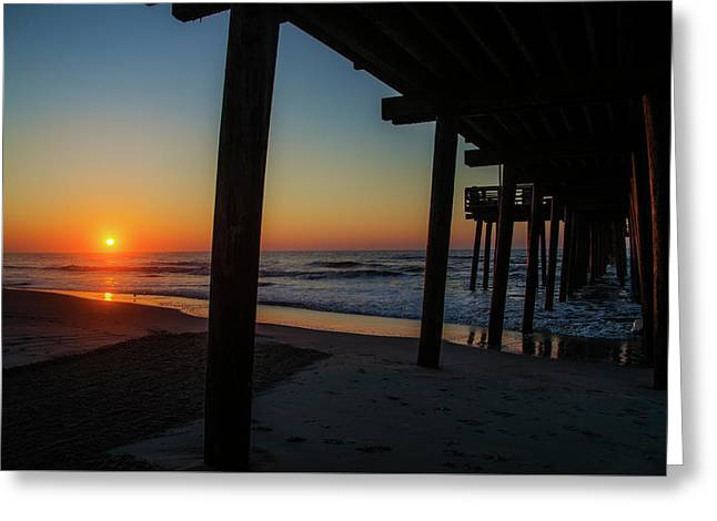 32 Street Pier - Avalon Nj Greeting Card by Bill Cannon