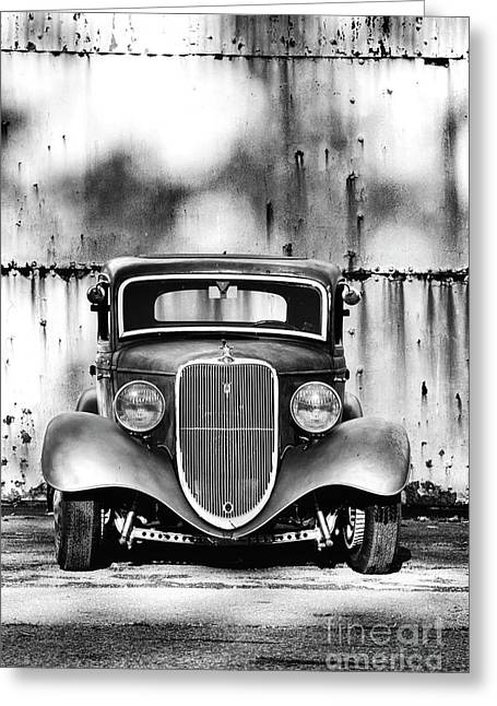 33 Ford V8 Greeting Card by Tim Gainey