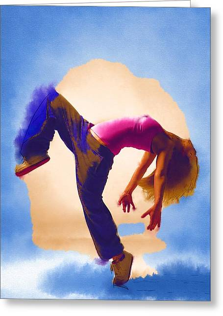 Lessons Greeting Cards - Dance The Greeting Card by Michael Vicin