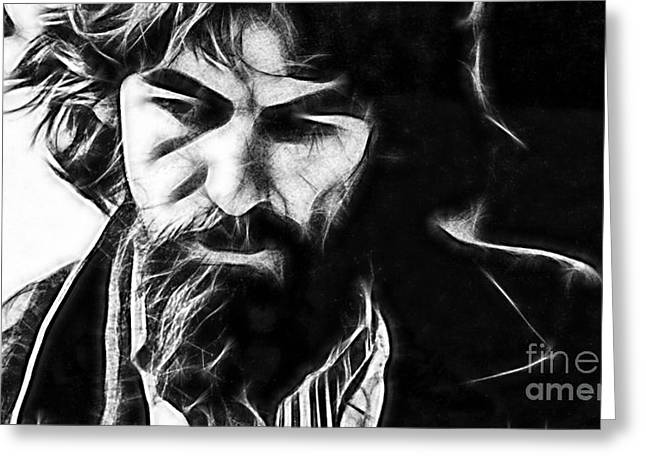 Harrison Greeting Cards - George Harrison Collection Greeting Card by Marvin Blaine