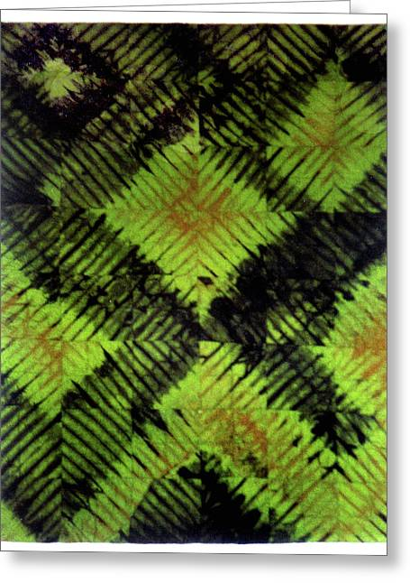 Large Tapestries - Textiles Greeting Cards - 35 Greeting Card by Mildred Thibodeaux
