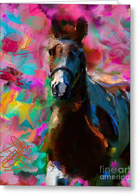 Shades Of Red Greeting Cards - 3586.1 Greeting Card by Donald Pavlica