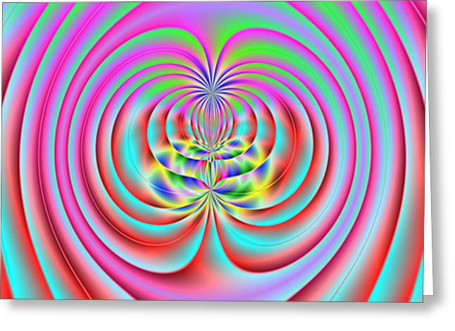Distortion Greeting Cards - 3X1 Abstract 919 Greeting Card by Rolf Bertram
