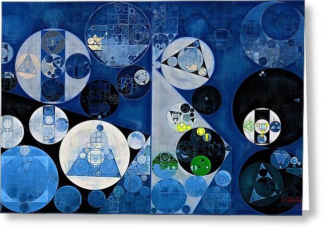 Abstract Painting - Heather Greeting Card by Vitaliy Gladkiy