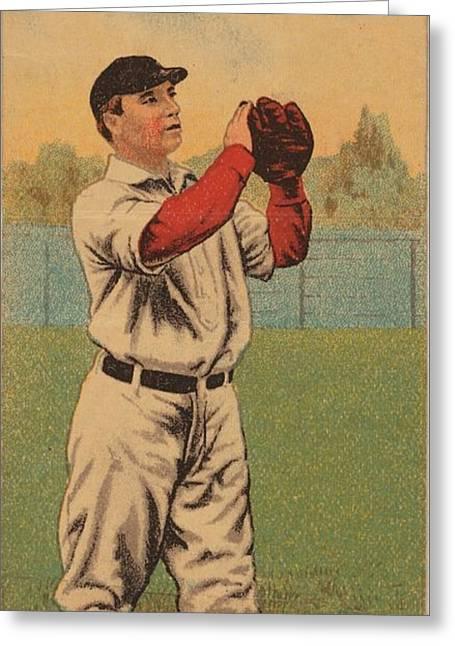 Backyard Baseball Greeting Card by Celestial Images