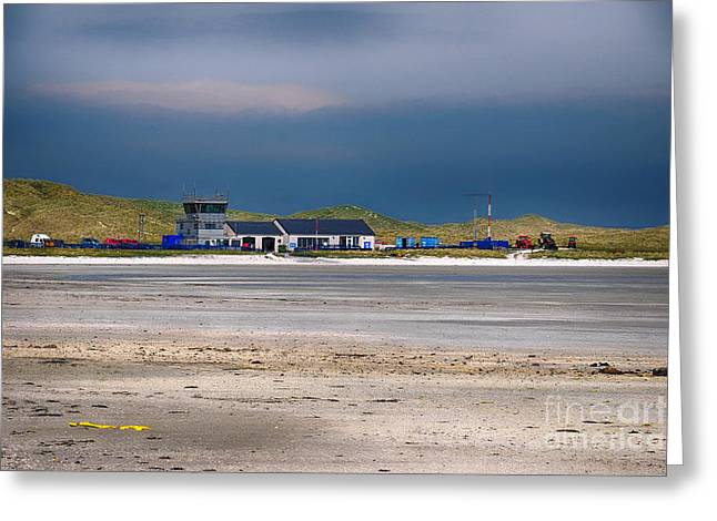 Barra Airport Greeting Card by Stephen Smith