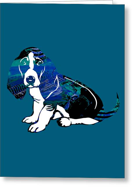 Pop Greeting Cards - Beagle Collection Greeting Card by Marvin Blaine