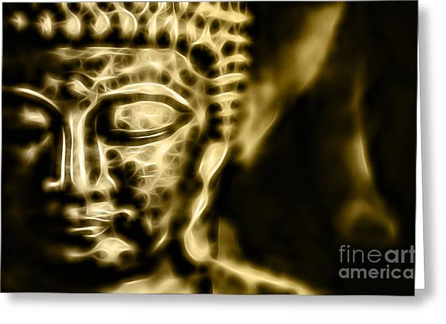 Meditation Greeting Cards - Buddah Collection Greeting Card by Marvin Blaine