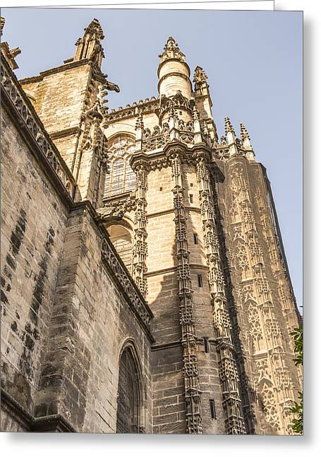 Retablos Greeting Cards - Cathedral of Seville - Seville Spain Greeting Card by Jon Berghoff