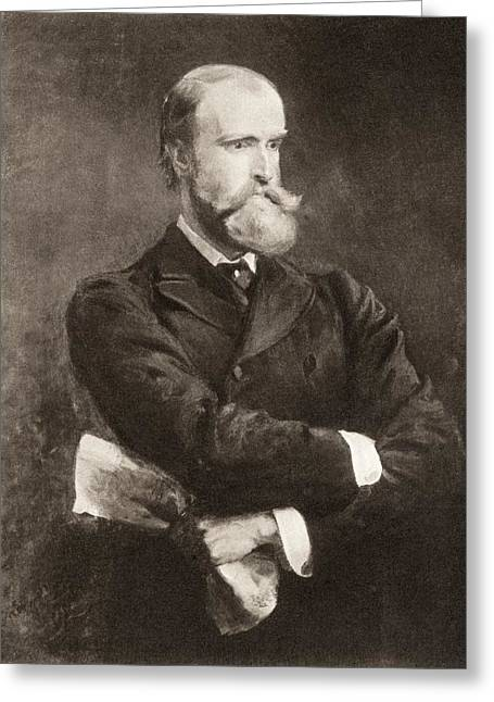 Reform Drawings Greeting Cards - Charles Stewart Parnell, 1846 Greeting Card by Vintage Design Pics