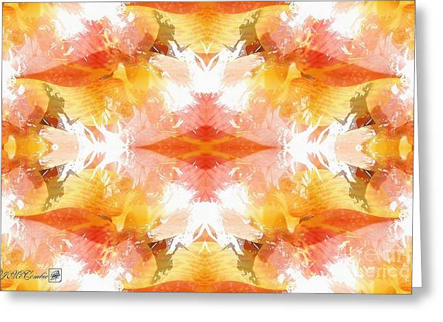 Geometric Artwork Greeting Cards - Corsica Abstract Greeting Card by J McCombie