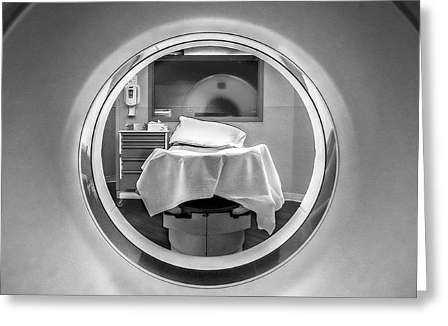 Medical Greeting Cards - CT Scanner Greeting Card by Stephen Robinson