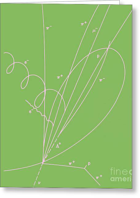 Quantum Physics Greeting Cards - Discovery Of Charmed Baryon Quark Greeting Card by Science Source