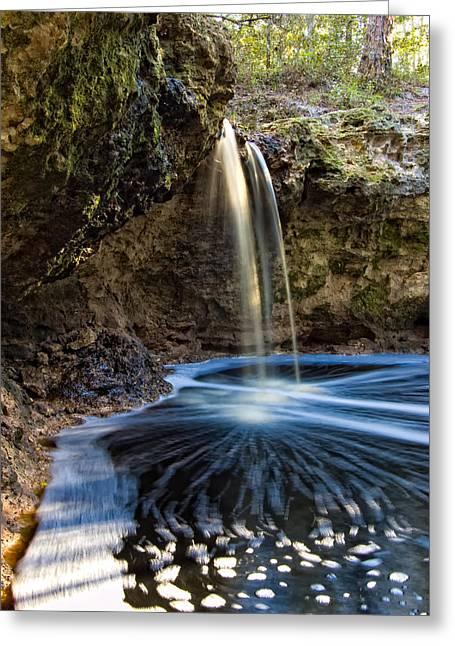 Falling Creek Falls Greeting Card by Rich Leighton