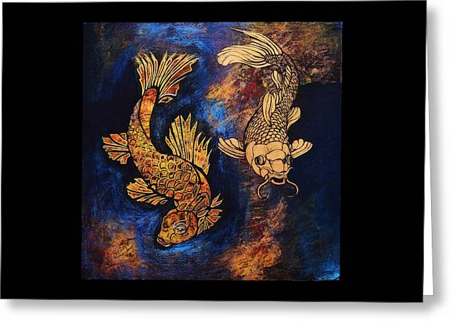 Fish Greeting Card by Stephen Humphries