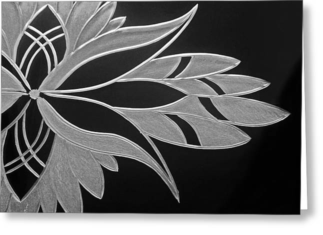 Sale Glass Art Greeting Cards - Flower of Victoria Greeting Card by Robert Zeman