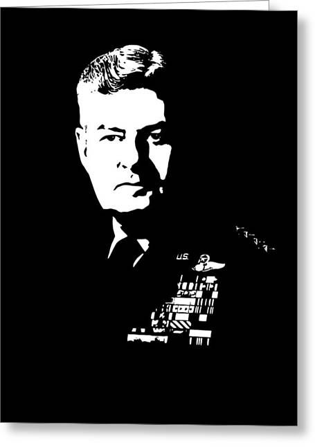 Curtis Greeting Cards - General Curtis Lemay Greeting Card by War Is Hell Store