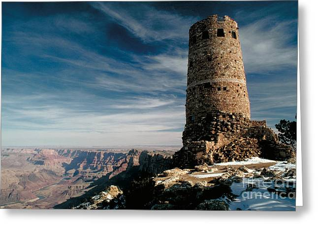 Famous Parks Of The World Photographs Greeting Cards - Grand Canyon Greeting Card by George Ranalli