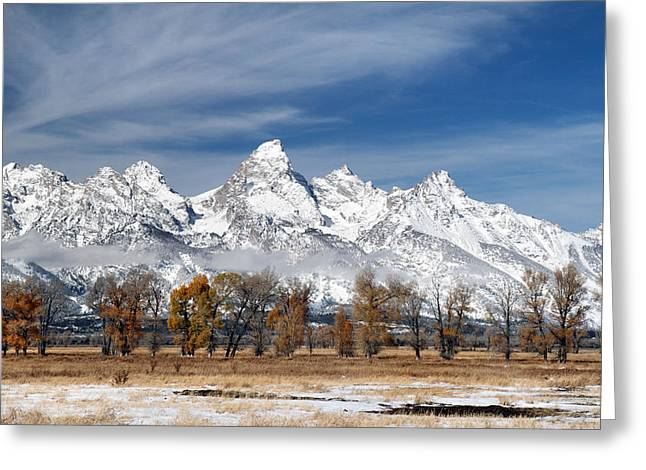 Road Trip Greeting Cards - Grand Teton National Park Greeting Card by Pierre Leclerc Photography
