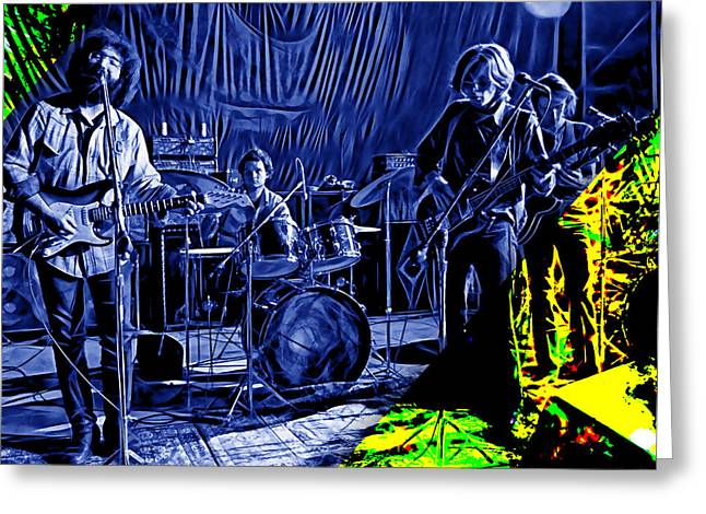 Jerry Garcia Greeting Cards - Grateful Dead Collection Greeting Card by Marvin Blaine