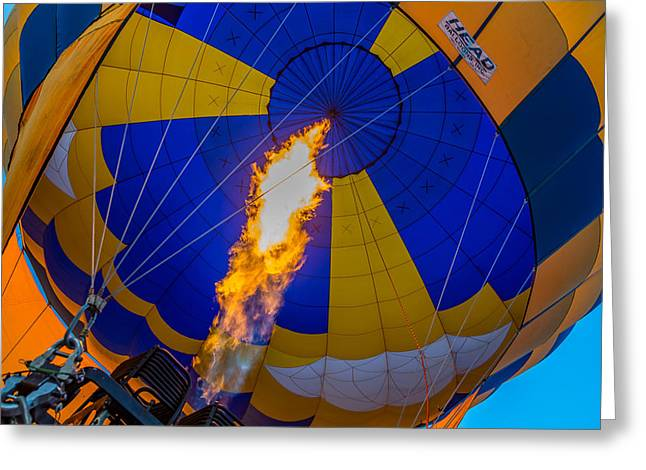 Mccoy Greeting Cards - Hot Air Balloon Greeting Card by A Different Brian Photography