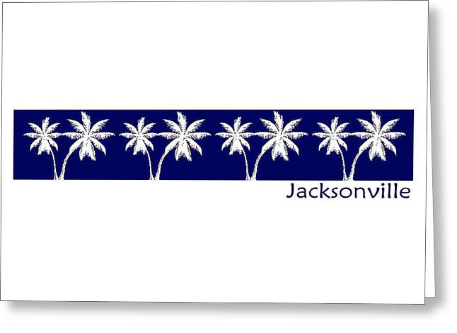 Jacksonville Greeting Cards - Jacksonville Florida Greeting Card by Brian