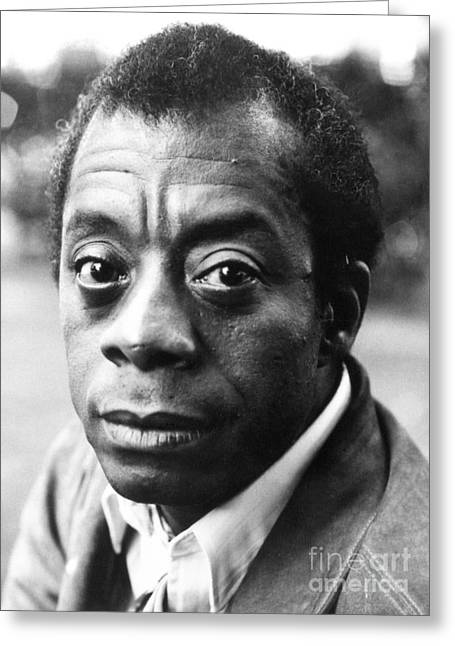 20th Greeting Cards - James Baldwin (1924-1987) Greeting Card by Granger