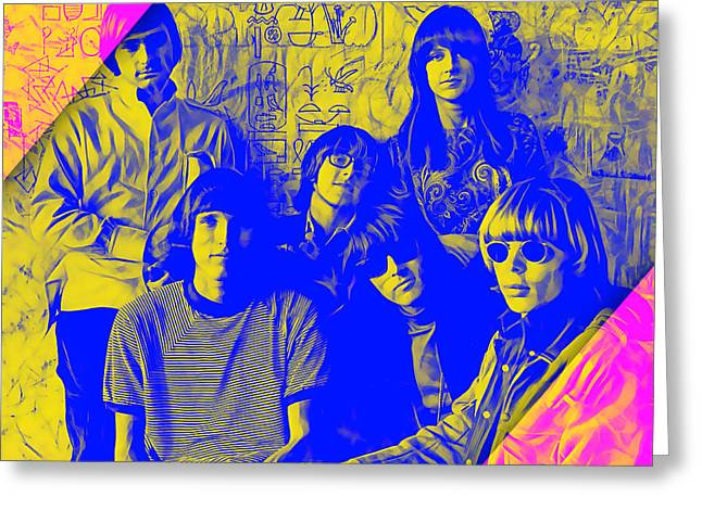 Jefferson Airplane Collection Greeting Card by Marvin Blaine
