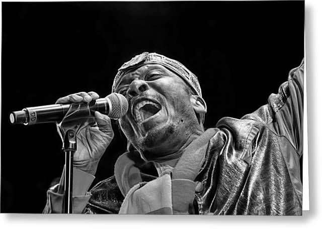 Jimmy Greeting Cards - Jimmy Cliff Collection Greeting Card by Marvin Blaine