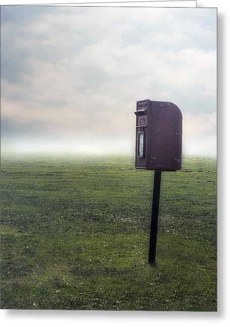 Postboxes Greeting Cards - Letter Box Greeting Card by Joana Kruse