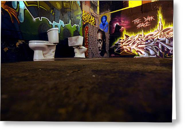 Mike Lindwasser Photography Greeting Cards - Lic Graffiti  Greeting Card by Mike Lindwasser Photography