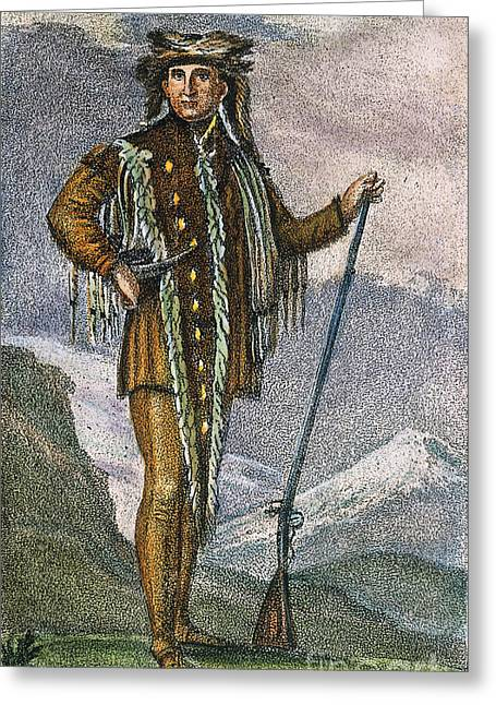 Captain America Photographs Greeting Cards - Meriwether Lewis Greeting Card by Granger