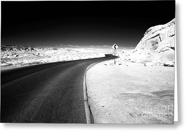 4 Miles Greeting Card by John Rizzuto