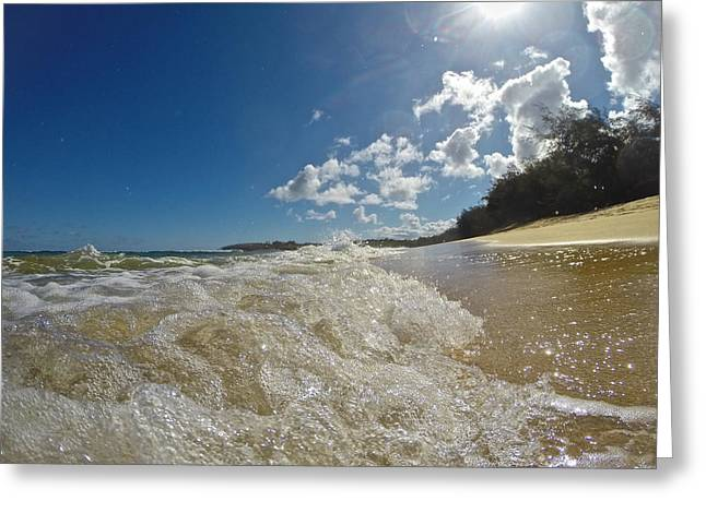 Poipu Greeting Cards - Poipu Beach Kauai Greeting Card by Steven Lapkin